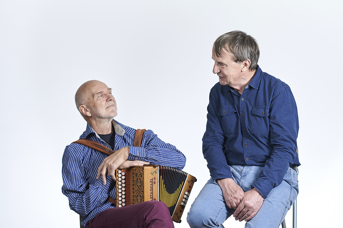 CE Lundgaard og JP Madsen